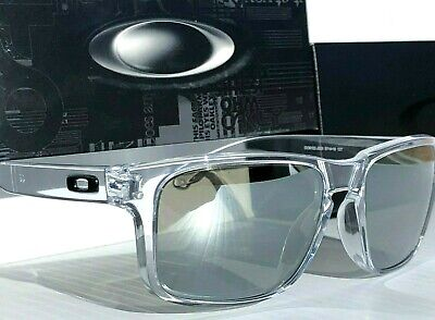5c74d9846c NEW  Oakley HOLBROOK CLEAR w POLARIZED PRIZM Black Iridium Lens Sunglass  9102
