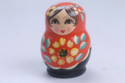 Nesting Doll Russian Doll Matryoshka Hand Painted Moscow Traditional  BB544