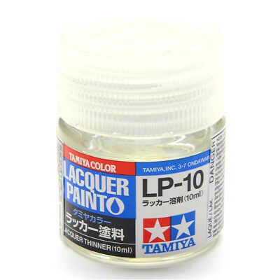 TAMIYA LACQUER PAINT COLOR LP-10 lacquer thinner 10ml New Color Free Shipping
