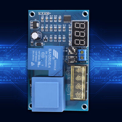 Digital 6V-120V Battery Charger Automatic Charging Protection Controller Module