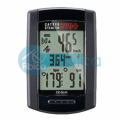 New CATEYE Stealth 11 Evo+ Plus with GPS CC-GL51 Cycle Computer Speedometer