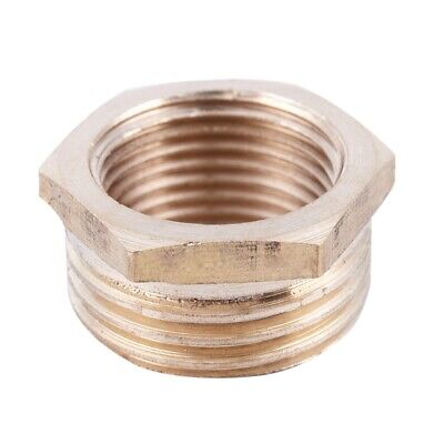 20mm Male to 16mm Female Brass Hex Reducing Bushing Adapter Pipe Fitting Go N1T4
