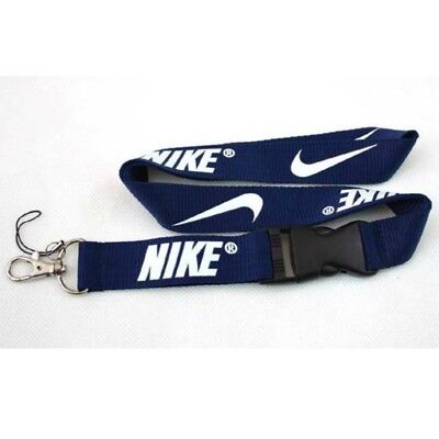 Nike Lanyard Strap Badge ID Running Cell Holder Detachable Keychain iPod Camera