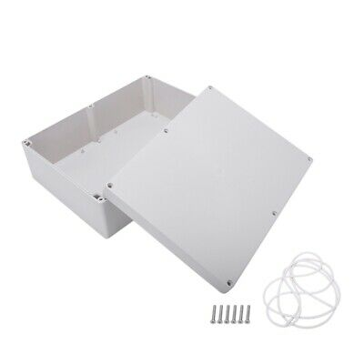 290mm x 210mm x 100mm Waterproof Plastic Enclosure Case DIY Junction Box CT L6F5