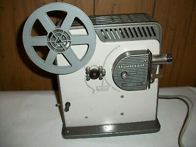 Brumberger 8mm Movie Projector