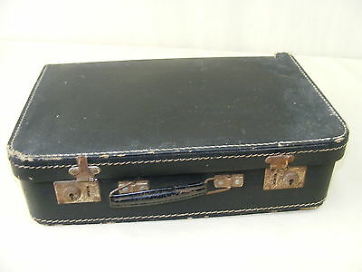Beautiful small Suitcase, old suitcases 1950s Jahre, Iconic Design