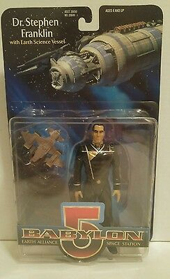 BABYLON 5 DR. STEPHEN FRANKLIN Earth Science Vessel EARTH ALLIANCE Space Station