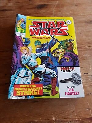 Vintage Star Wars Weekly Comics from 1978 x 24 excellent condition