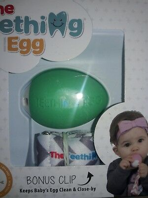 The Teething Egg® Teether - Mint Green