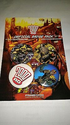 2000AD Official Badge Pack