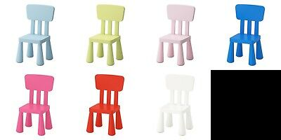 Ikea Mammut Kids Childrens Chair Various colours
