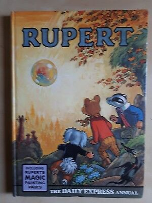 Very Nice Vintage Original 1968 Rupert Bear Annual