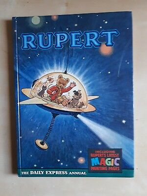 Vintage Original 1966 Rupert Bear Annual