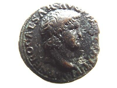 Higher Quality Ancient Roman As Coin; Nero - Victory 66AD; 9.5 Grams!