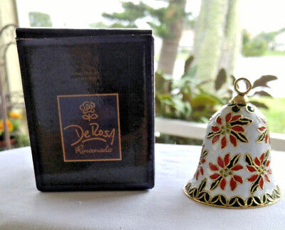 Hand Crafted Enameled Christmas Bell