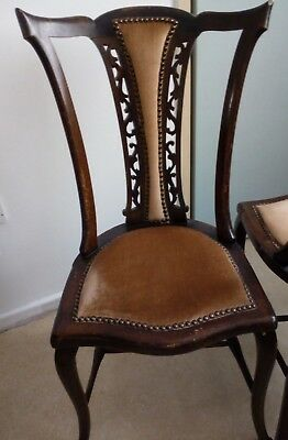 Antique, vintage upholestered chair