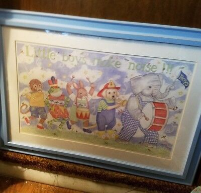Kelly Rightsell signed and framed lithograph