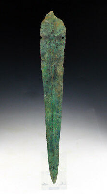 *SC*A TANGED WESTERN ASIAN 'LURISTAN' BRONZE SWORD, 2nd mill BC!!