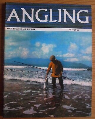 Angling magazine - August 1969 (Bernard Venables, Fred J. Taylor, Clive Gammon)