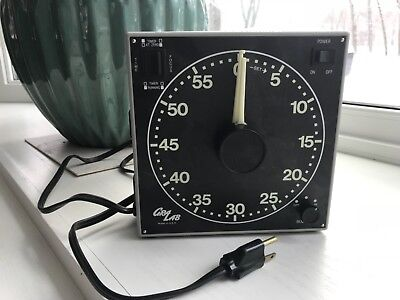 Gralab Model 300 Darkroom Timer Used great condition analog timer with buzzer