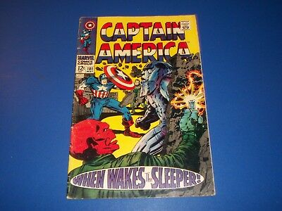 Captain America #101 Silver Age Comic Book Wow VG/F Beauty Red Skull
