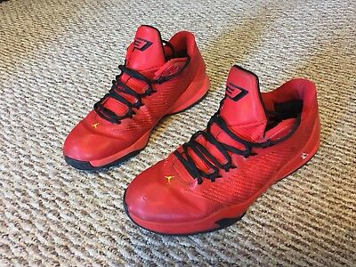 9099ccc8ae75 NIKE Air Jordan CP3 Challenge Red Tour Yellow-Black 684855-605 SIZE 10.5