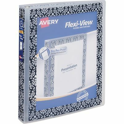 Avery Damask Border Flexi-View Binder (ave-17644) (ave17644)