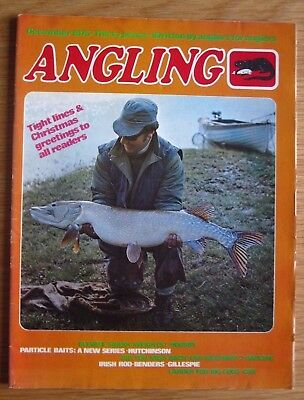 Angling magazine - December 1975 (Rod Hutchinson, Trevor Housby, Dave Steuart)