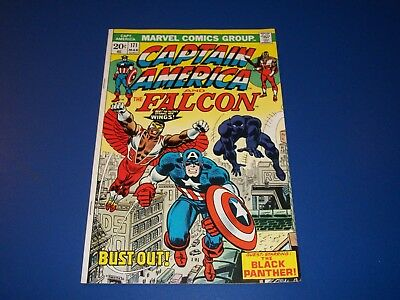 Captain America #171 Bronze age Black Panther VF Beauty Wow