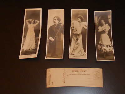 Post Card Book Marks Early 1900s (23 of them - Rotary)