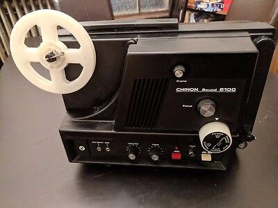 VNTG Chinon Sound 6100 Super 8mm Projector (Rare) FOR PARTS