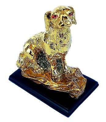 Feng Shui 2018 Good Fortune Zodiac Dog Statue Figurine Decoration for Prosperity