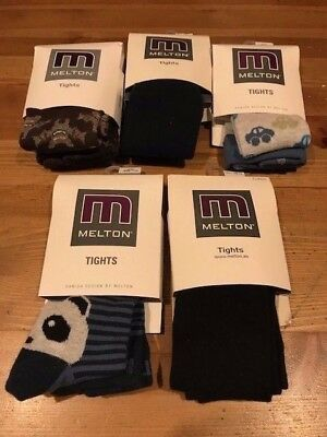 BNWT Melton Baby Boys tights bundle x5 pairs size 68-74cm / 3-6 months