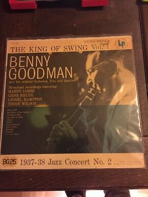 Benny Goodman LP King Of Swing Vol.1 1937-38