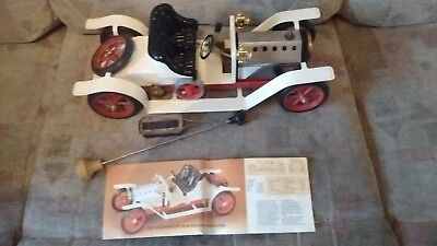 Vintage Mamod Steam Car Roadster Sa1 First Edition Pre-Sightglass Original Box +
