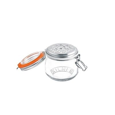 Y25841 Cheese Grater Set with 0.5L Litre Clip Top Storage Jar (3840)