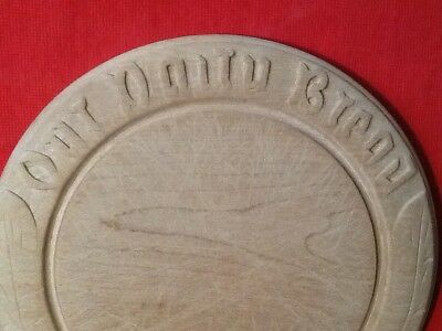 """Antique?/Vintage. 12"""" Or 30Cms Bread Board.  Our Daily Bread."""