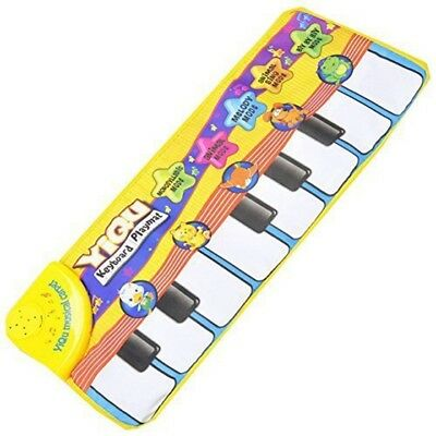 Piano Music Game Carpet Baby Crawling Mat Toys Blanket Kid Educational Toys E6E9
