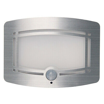10 LED Wireless Motion Sensor Activated Battery Operated Sconce Wall Light D8V4