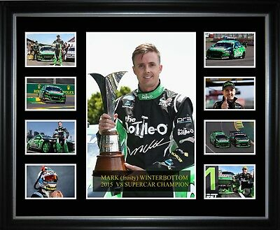 Mark frosty Winterbottom 2015 V8 Supercar Champion Limited Edition Memorabilia