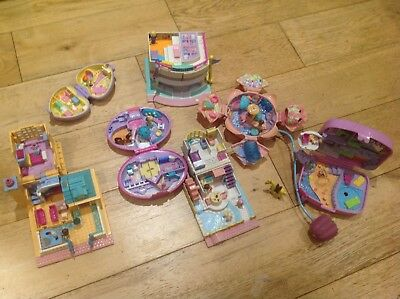 Vintage Polly Pocket Bundle with compacts