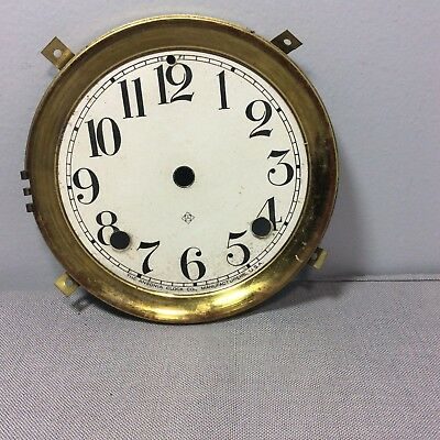 Antique  Original Ansonia Clock Pan Dial
