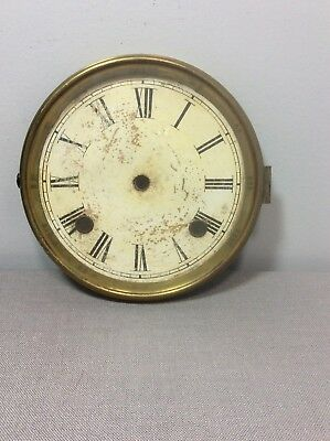 Antique Ithaca Calendar Clock Upper Dial