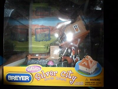 Breyer Mini Whinnie Silver City Hacienda Play Set New in Box #300124
