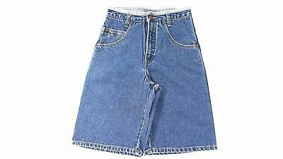 Arizona Boys size 12 Cotton Shorts Blue Denim Designer Kids Childrens Fashion