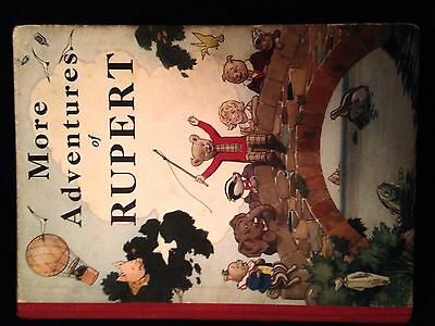 MORE ADVENTURES OF RUPERT.  RARE 2ND Daily Express Annual. Nice VG/F cond. 1937!