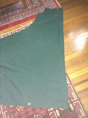 """Mainsail Cover, used but good condition; fits ~ 35ft boat; total length: 14' 11"""""""