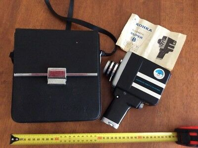 Kohka Super 8 Automatic Movie Camera With Case and Instruction booklet