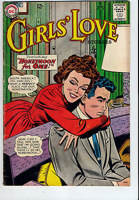 Girls'  Love  -   Dc  -  # 97,  Aug.  1963  -  Very  Good  5.0     Just  .99