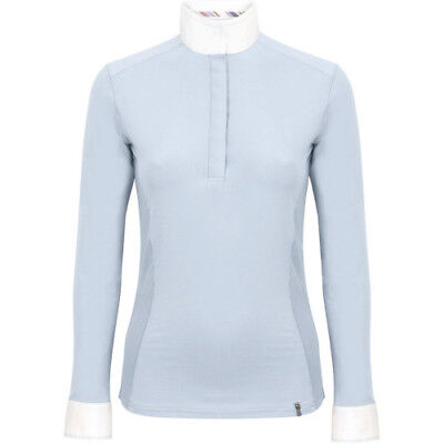 Tredstep Symphony Long Sleeve Womens Shirt Competition - Baby Blue All Sizes